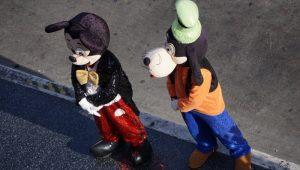 hollywood street performers